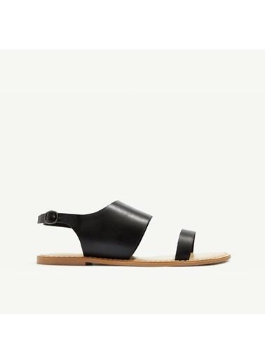 Yargıcı Sandalet Siyah